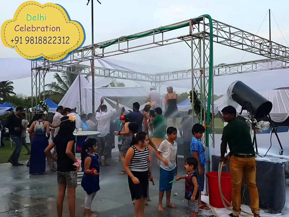 Rain Dance Party Setup on Rent in Delhi
