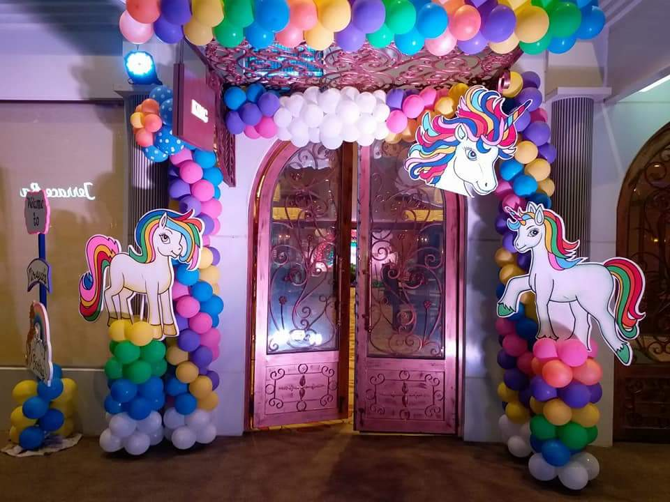 Unicorn Birthday Theme Party in Delhi
